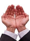 ερώτηση των χεριών Στοκ φωτογραφία με δικαίωμα ελεύθερης χρήσης