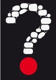 ερώτηση Στοκ Εικόνα