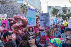 2$ες ετήσιες γυναίκες ` s Μάρτιος - η ιστορία σας προσέχει Στοκ εικόνα με δικαίωμα ελεύθερης χρήσης