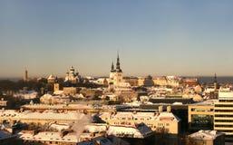 Εσθονία παλαιό Ταλίν Στοκ Φωτογραφία