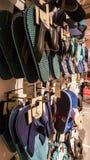 Εσκί Σεχίρ, Τουρκία - 11 Αυγούστου 2017: Συλλογή των διαφορετικών πτώσεων κτυπήματος σε ένα κατάστημα σε Εσκί Σεχίρ Στοκ Εικόνα