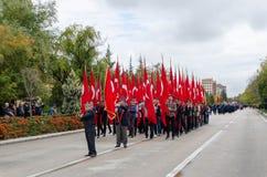 Εσκί Σεχίρ, 29.2017 Τουρκία-Οκτωβρίου: Εορτασμός του 94ου Anniv στοκ εικόνες