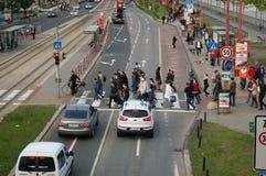 Εσπευσμένη οδός Στοκ φωτογραφία με δικαίωμα ελεύθερης χρήσης