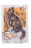 ΕΣΣΔ - CIRCA 1967: Ένα γραμματόσημο που τυπώνεται παρουσιάζει σειρά άγρια περιοχών Στοκ Εικόνες