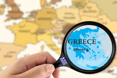 εστίαση Ελλάδα Στοκ φωτογραφίες με δικαίωμα ελεύθερης χρήσης
