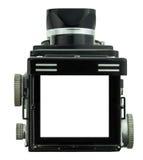 Εστίαση πλαισίων της κάμερας tlr Στοκ εικόνα με δικαίωμα ελεύθερης χρήσης