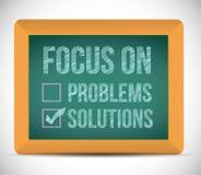 Εστίαση στην απεικόνιση σημαδιών ελέγχου λύσεων απεικόνιση αποθεμάτων