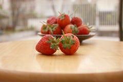 Εστίαση φραουλών στοκ φωτογραφίες με δικαίωμα ελεύθερης χρήσης