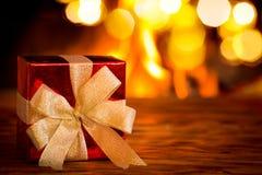 Εστία Χριστουγέννων Χριστουγέννων διακοπές χειμώνας Στοκ εικόνες με δικαίωμα ελεύθερης χρήσης