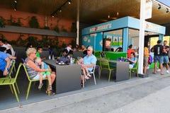 Εστιατόρια της Βαρκελώνης Στοκ Εικόνες