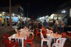 Εστιατόρια Galapagos, Ισημερινός Στοκ Φωτογραφία