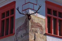 Εστιατόριο ελαφιών buck στοκ φωτογραφίες