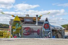Εστιατόριο θαλασσινών ακτίνας, σίκαλη, NH, ΗΠΑ στοκ φωτογραφίες με δικαίωμα ελεύθερης χρήσης