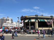 Εστιατόριο καραφών βαρελιών «ν στη Βοστώνη, μΑ Στοκ φωτογραφίες με δικαίωμα ελεύθερης χρήσης