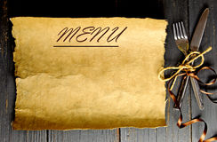 εστιατόριο καταλόγων επιλογής invatation καρτών ανασκόπησης Στοκ Εικόνες