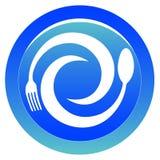 εστιατόριο λογότυπων Στοκ εικόνα με δικαίωμα ελεύθερης χρήσης
