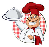 Εστιατόριο μαγείρων Στοκ Φωτογραφία