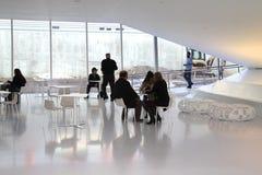 Εστιατόριο μουσείων κινηματογράφων Στοκ Φωτογραφίες