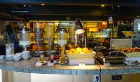Εστιατόριο μπουφέδων στη Μπανγκόκ, Ταϊλάνδη Στοκ εικόνες με δικαίωμα ελεύθερης χρήσης