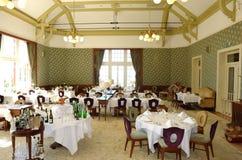 εστιατόριο ξενοδοχείων Στοκ εικόνα με δικαίωμα ελεύθερης χρήσης