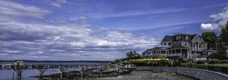 Εστιατόριο/πανδοχείο στο λιμάνι φραγμών, ΕΓΩ Στοκ φωτογραφίες με δικαίωμα ελεύθερης χρήσης