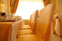 εστιατόριο πετσετών γυα& Στοκ Φωτογραφία