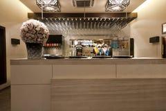 εστιατόριο ποτών ράβδων Στοκ εικόνα με δικαίωμα ελεύθερης χρήσης