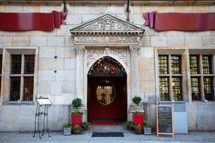 Εστιατόριο πολυτέλειας σε Wroclaw, Πολωνία Στοκ εικόνες με δικαίωμα ελεύθερης χρήσης