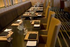 Εστιατόριο ράβδων πολυτέλειας Στοκ Εικόνες