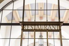 Εστιατόριο σταθμών ένωσης στοκ φωτογραφίες