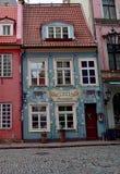 Εστιατόριο στην παλαιά Ρήγα Στοκ Εικόνα