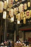 Εστιατόριο στην πόλη Chengdu, Κίνα Στοκ φωτογραφίες με δικαίωμα ελεύθερης χρήσης