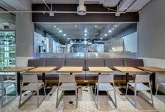 Εστιατόριο στο σύγχρονο ύφος Στοκ Εικόνες