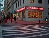 Εστιατόριο του Tom, Μανχάταν Νέα Υόρκη Στοκ φωτογραφία με δικαίωμα ελεύθερης χρήσης