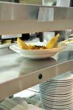 εστιατόριο τροφίμων Στοκ Εικόνες