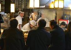 Εστιατόριο Τόκιο Ιαπωνία Στοκ φωτογραφία με δικαίωμα ελεύθερης χρήσης