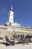 Εστιατόριο φραγμών στην κορυφή Mont Ventoux Στοκ φωτογραφία με δικαίωμα ελεύθερης χρήσης
