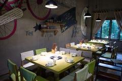 Εστιατόριο Στοκ Φωτογραφία