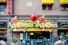 Εστιατόριο Applebee ` s στο Μανχάταν Στοκ Εικόνες