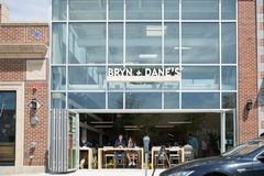 Εστιατόριο Bryn και Δανών ` s στοκ εικόνες