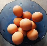 εσωτερικά αυγά στοκ φωτογραφία