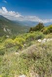Εσωτερικά βουνά Cephalonia Kefelonia, Ελλάδα Στοκ εικόνα με δικαίωμα ελεύθερης χρήσης
