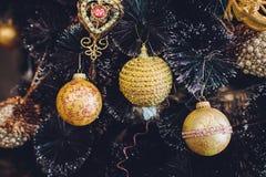 Εσωτερικά θερμά χρώματα Χριστουγέννων στούντιο Στοκ εικόνες με δικαίωμα ελεύθερης χρήσης