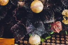 Εσωτερικά θερμά χρώματα Χριστουγέννων στούντιο Στοκ φωτογραφίες με δικαίωμα ελεύθερης χρήσης