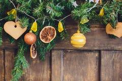 Εσωτερικά θερμά χρώματα Χριστουγέννων στούντιο Στοκ Φωτογραφίες