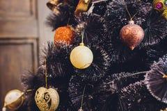 Εσωτερικά θερμά χρώματα Χριστουγέννων στούντιο Στοκ Εικόνες