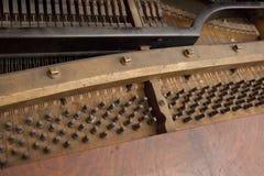 Εσωτερικό πιάνο Στοκ εικόνα με δικαίωμα ελεύθερης χρήσης