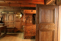 εσωτερικά palas rosenborg Στοκ Φωτογραφίες