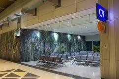 Εσωτερικές ιδέες σχεδίου - αίθουσα αναμονής αερολιμένων Στοκ εικόνες με δικαίωμα ελεύθερης χρήσης
