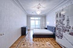 Εσωτερικές κρεβατοκάμαρες σχεδίου Στοκ Εικόνα